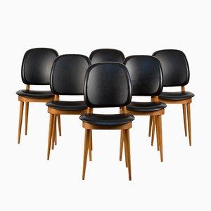 Beistellstühle von Pierre Guariche, 1960er, 6er Set