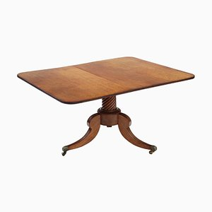 Antique Regency Light Mahogany Tilt-Top Table, 1820s