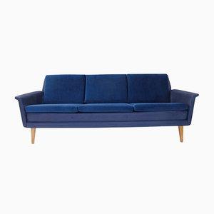 Sofá de tres plazas vintage de Folke Ohlsson para Dux