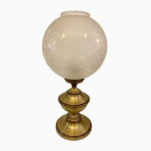 Lampada da tavolo Mid-Century sferica, anni '70