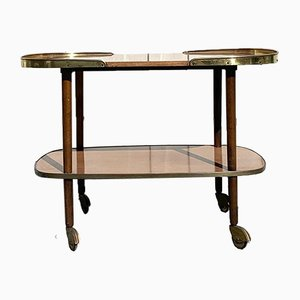 Vintage Italian Bar Trolley Serving Table, 1960s
