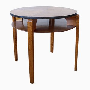 Table Basse par Ilmari Tapiovaara pour Keravan Puusepät, 1940s