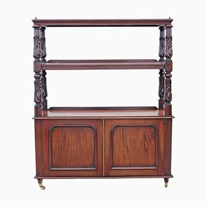 Victorian Carved Mahogany Buffet