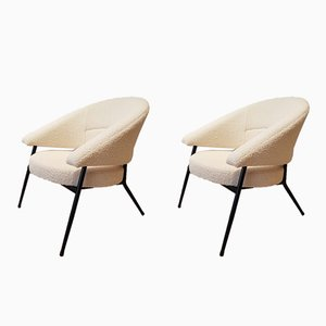 Vintage Armchairs by M. Cabrol for Malita, 1950s, Set of 2