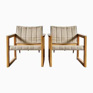 Diana Sessel von Karin Mobring für Ikea, 1970er, 2er Set