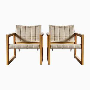 Poltrone Diana di Karin Mobring per Ikea, anni '70, set di 2