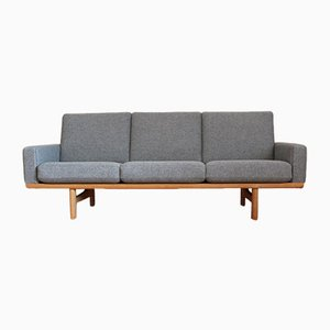 Model GE236/3 Oak Sofa by Hans J. Wegner for Getama, 1950s
