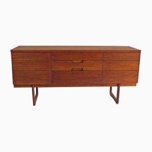 Vintage Sideboard by Gunther Hoffstead for Uniflex, 1960s