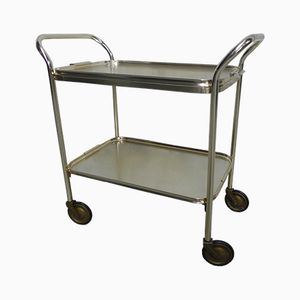 Vintage Aluminum Serving Trolley from Carefree, 1950s