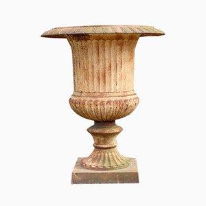 Grand Cache-Pot Néo-Classique en Fonte, 1990s