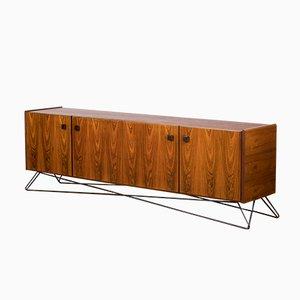 Großes minimalistisches Vintage Sideboard aus Palisander, 1960er