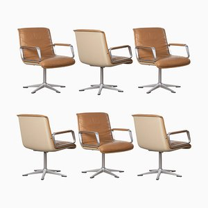 Chaises Delta Design Program 2000 Vintage de Wilkhahn, Set de 6
