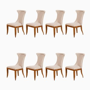 Stühle im Art Deco Stil von Restall Brown & Clennel, 1980er, 8er Set
