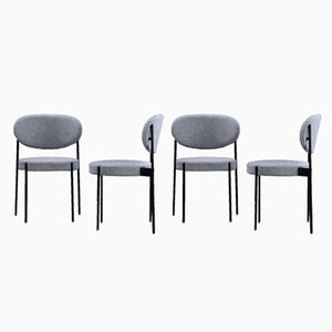 Model 430 Dining Chairs by Verner Panton for Verpan, 1960s, Set of 4