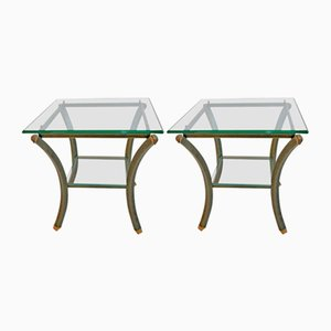 Tables d'Appoint Vintage par Pierre Vandel, 1970s, Set de 2