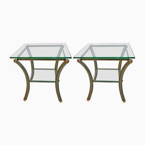 Vintage Side Tables by Pierre Vandel, 1970s, Set of 2