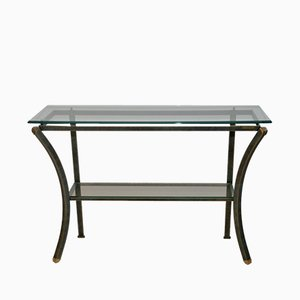 Hollywood Regency Console Table by Pierre Vandel, 1970s