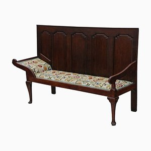 Antique Georgian Oak Daybed