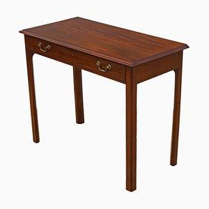 Table d'Appoint Antique en Acajou et Chêne
