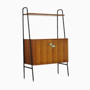 Mueble escandinavo de teca, años 60