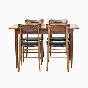 Scandinavian Dining Room Set, 1960s