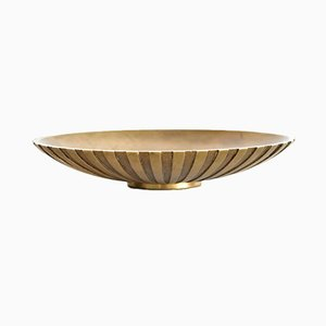 Danish Art Deco Bronze Bowl from Tinos, 1930s