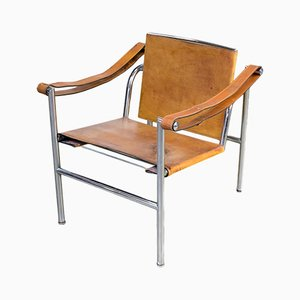 LC1 Chairs by Le Corbusier for Cassina, 1960s, Set of 2