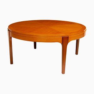 Table Mid-Century en Bouleau Satiné, 1960s