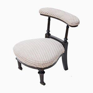 Chaise d'Appoint Victorienne Antique