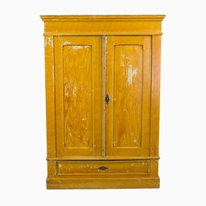 Antique French Brocant Wardrobe