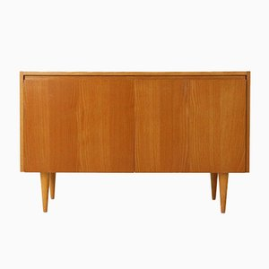 Ash Chest of Drawers with White Surface, 1950s
