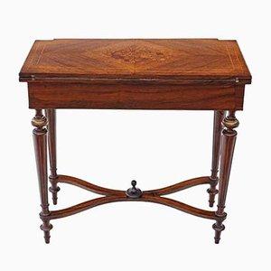 Antiker Spieltisch aus Palisander