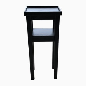 Art Deco Small Black Side Table, 1930s