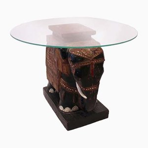 Glass Plate Sidetables, 1880s, Set of 2