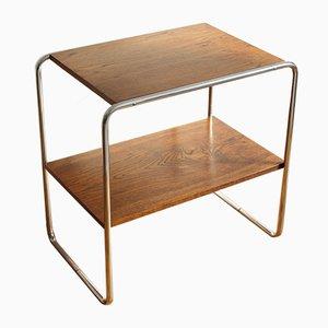 Mesa consola vintage de Marcel Breuer para Kovona Karvina, años 40