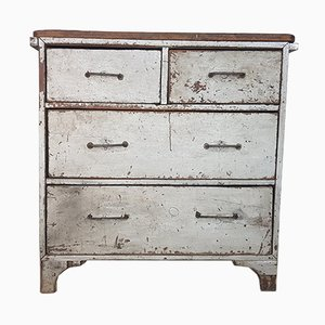 Vintage French Industrial Chest of Drawers