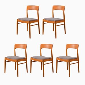 Dining Chairs by K. S. Møbler, 1960s, Set of 5