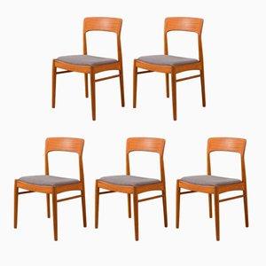 Esszimmerstühle von KS Møbler, 1960er, 5er Set