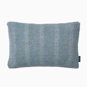 Cuscino Herringbone antico blu di Louise Roe