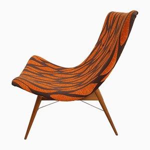 TV Chair by Miroslav Navratil for Cesky Nabytek, 1959