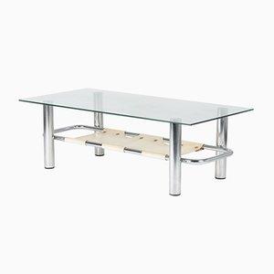 Table Basse Vintage en Chrome