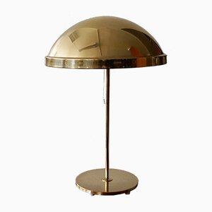 Lámpara de mesa de latón de Bergboms, años 60