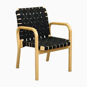Modell 45 Armlehnstuhl von Alvar Aalto für Artek, 1970er