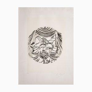 Serigrafia Recitazione di Salvador Dali per Istituto Grafico Italiano, 1983
