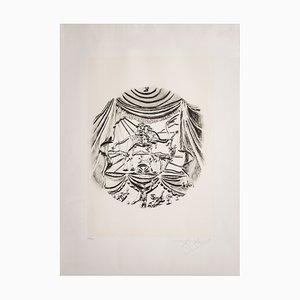 Sérigraphie Recitazione par Salvador Dali pour Istituto Grafico Italiano, 1983