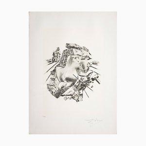Serigrafia Scultura di Salvador Dalì per Istituto Grafico Italiano, 1983