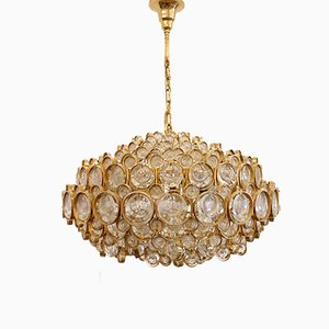 Large Vintage Chandelier by Gaetano Sciolari for Palwa