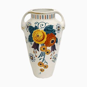 Art Deco Toscane Vase from K&G Lunéville, 1920s