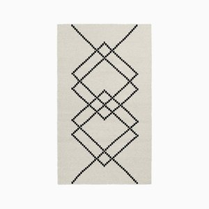 Ecru Borg 01 Rug by Louise Roe