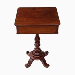 Table d'Appoint Antique en Acajou